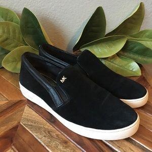Michael Kors Keaton Suede Slip On Sneaker